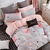 Евро Комплект постельного белья Тирасполь 100% хлопок Love