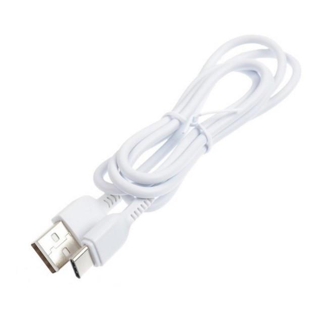 Кабель Hoco X20 Flash Type-c charging cable (L-1M) White