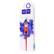 Кабель Hoco X14 Times speed Micro charging cable,(L-1M) Black & Red, фото 2