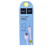 Кабель Hoco X1 Rapid charging cable Micro 1M White, фото 2