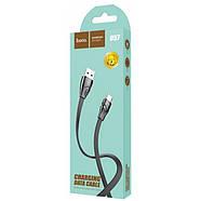 Кабель Hoco U57 Twisting charging data cable for Type-C Black, фото 2