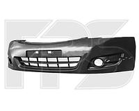 Передний бампер Nissan Teana 08-, черный, под покраску (FPS) 62022JN90H