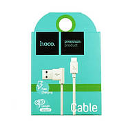 Кабель Hoco UPM10 L shape changing cable for Micro USB White, фото 2