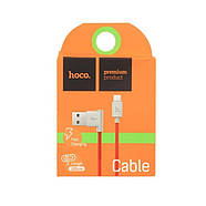 Кабель Hoco UPM10 L shape changing cable for Micro USB Red, фото 2