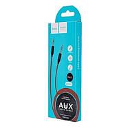 Кабель Hoco UPA11 AUX audio cable Black, фото 2