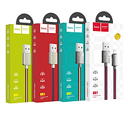 Кабель Hoco U61 Treasure charging data cable for Lightning LV Red, фото 2
