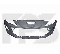 Передний бампер Peugeot 308 08-11 (отв. п/тум, без парктр.) (FPS) 7401LS