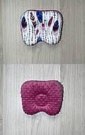 Двухсторонняя ортопедическая подушечка плюш/хлопок