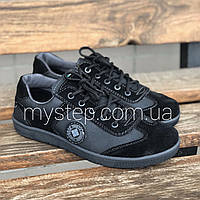 Кросівки чоловічі чорні Paolla 131, фото 1
