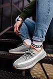 Стильные кроссовки Adidas Yeezy Boost 350 V2 Linen Revealed (Адидас Изи Буст 350), фото 10