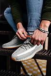 Стильные кроссовки Adidas Yeezy Boost 350 V2 Linen Revealed (Адидас Изи Буст 350), фото 9