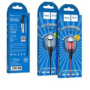 Кабель Hoco X38 Cool Charging data cable for Black Lightning, фото 2
