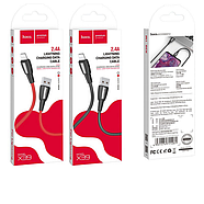 Кабель Hoco X39 Titan charging data cable for Lightning Red, фото 2