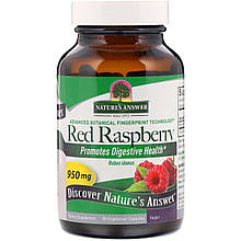 """Малина Nature's Answer """"Red Raspberry"""" 950 мг (90 капсул)"""