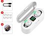 Беспроводные наушники-Powerbank Amoi F9-touch White - Фото
