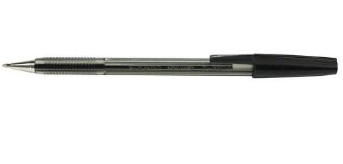 Ручка шариковая Zebra 5200 M-BK черн Cristal тонир