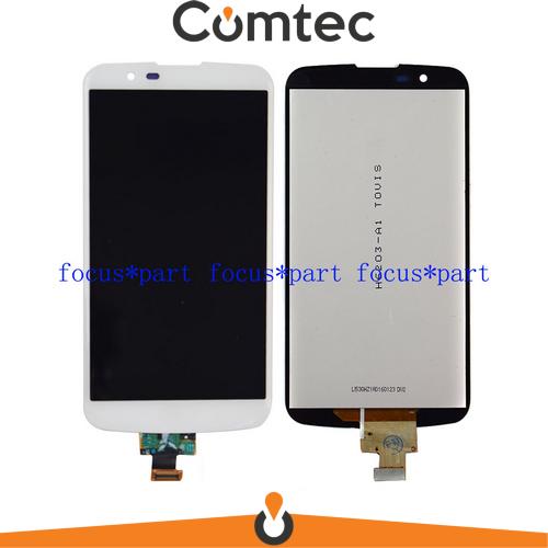 Дисплей для LG K410 K10 Dual Sim/K420N/K430DS с тачскрином (Модуль) белый, без микросхемы, оригинал