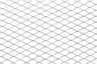 Сетка просечная оцинковання  25х50 - 1/10 м 0,55 мм