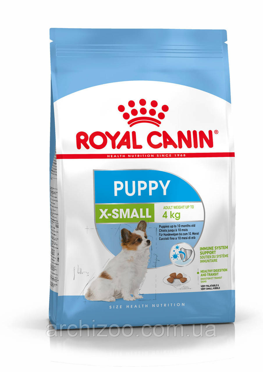 Royal Canin X-Small Puppy 1,5кг для щенков миниатюрных пород до 10 месяцев