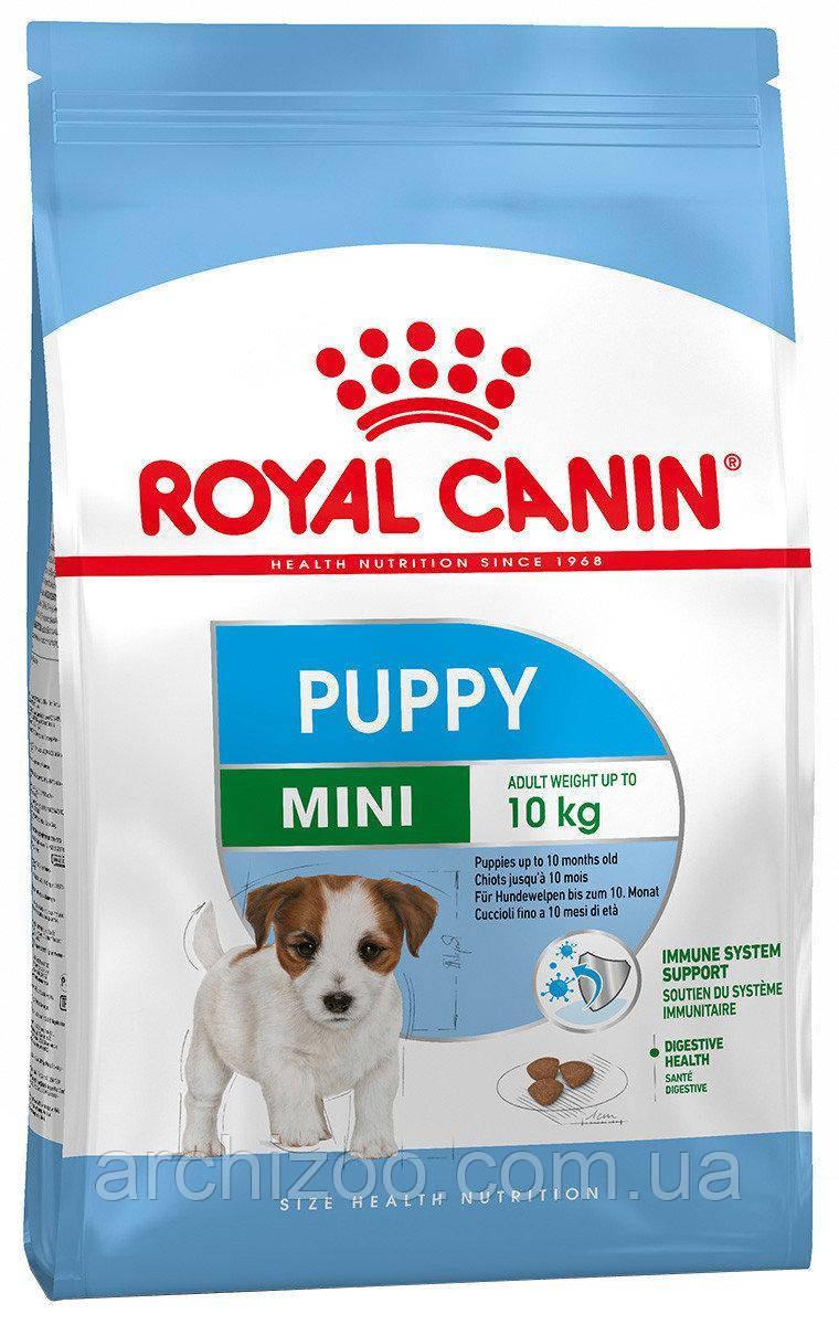 Royal Canin Mini Puppy 0,8кг для щенков мелких пород от 2 до 10 м-цев