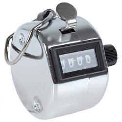 Ручной 4-разрядный счетчик Kronos 0000-9999 металлический (acf_00050)