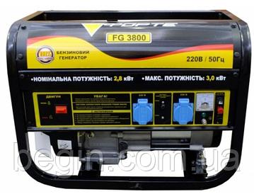Генератор бензиновый Форте FG3800