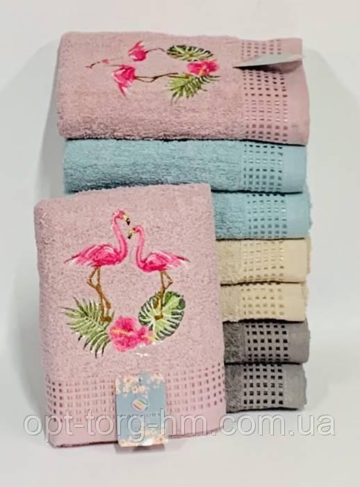 Полотенца Фламинго