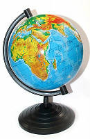 Глобус Физический 16см