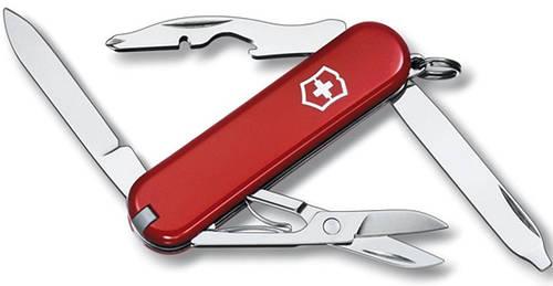 Швейцарский складной карманный нож Victorinox Rambler 06363 красный