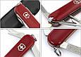 Швейцарский складной карманный нож Victorinox Rambler 06363 красный, фото 6
