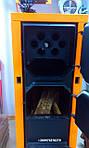 Запуск твердотопливного котла ДТМ (розжиг)