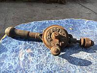 Винтажная ретро дрель ручная дрель в коллекцию