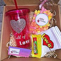 """Подарочный бокс для девушки WOW BOXES """"Love is"""""""