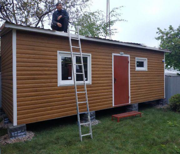Мобильный дом для дачного участка
