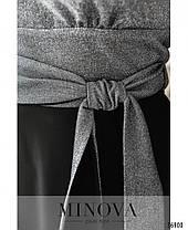 Платье №19-43-серебро, фото 2