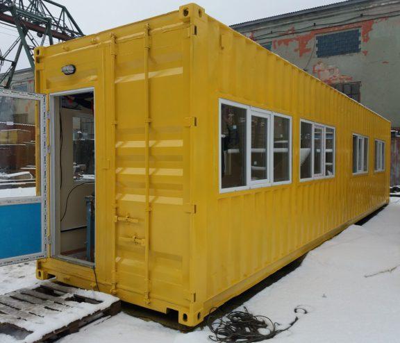 Мобильный дом для дачи у моря