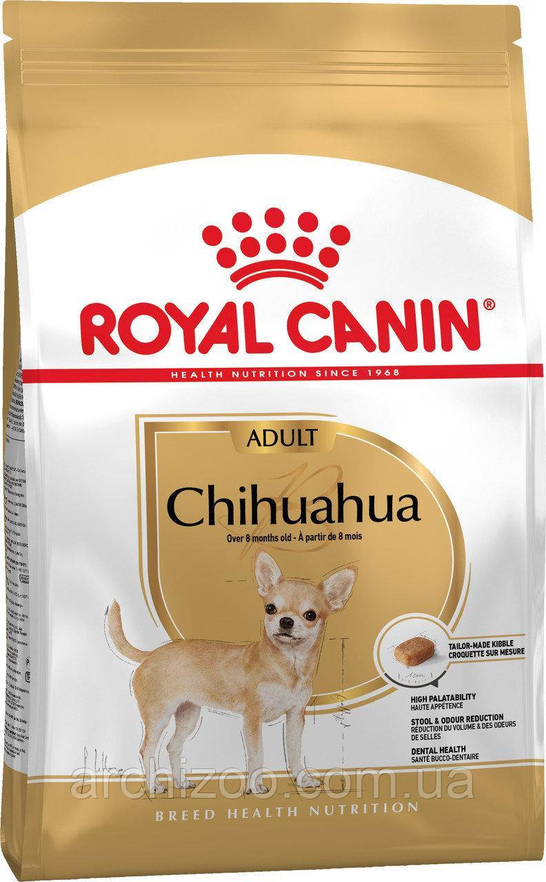 Royal Canin Chihuahua Adult 0,5кг для собак породы Чихуахуа старше 8 месяцев.