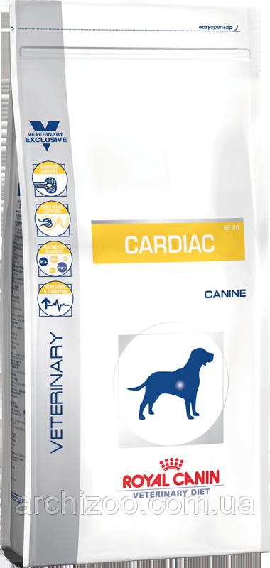 Royal Canin Cardiac 2кг Диета для собак при сердечной недостаточности