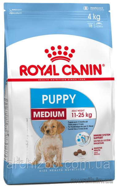 Royal Canin Medium Puppy 1кг для щенков средних пород от 2 до 12 месяцев