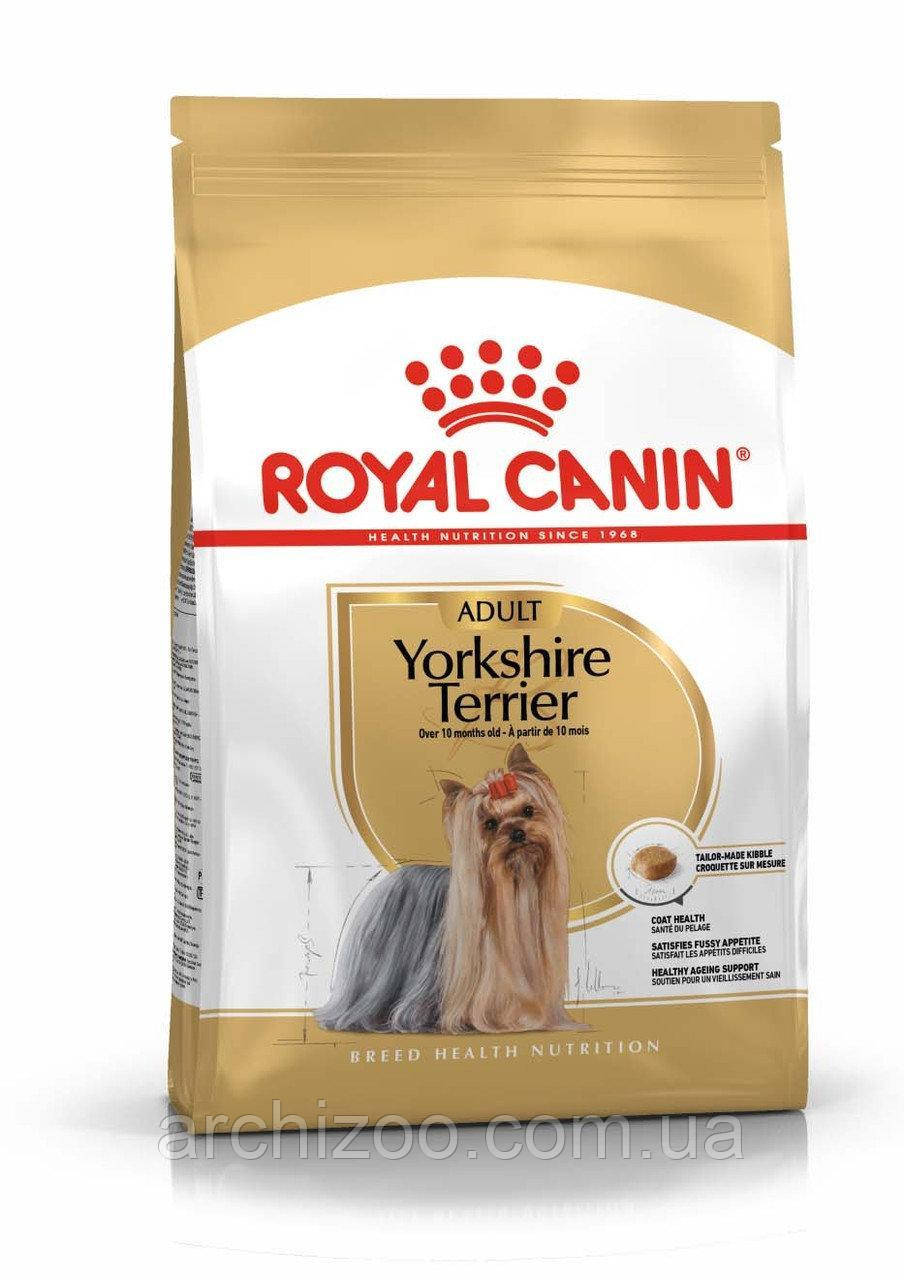 Royal Canin Yorkshire Terrier Adult 1,5кг для собак породы Йоркшир терьер старше 10 месяцев