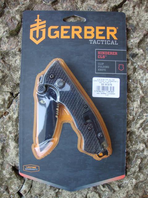 Складной нож GERBER Hinderer CLS (22-01870)