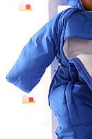 Демисезонный комбинезон для новорожденного (0-6 месяцев) Синий, фото 4