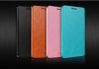 Lenovo A6010 A6000 оригинальный чехол книжка иск. кожа с метал. вставкой влагостойкий для телефона MOFI CLASIC