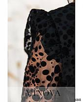Платье №740Б-черный, фото 2