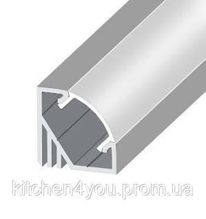 Угловой профиль для LED ленты ЛПУ 17 МР ЭКО 17 х 17 мм.