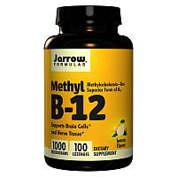 Метилкоболамин Витамин Б12 Jarrow Formulas Methyl B-12 1000 mcg 100 леденцов Лимон