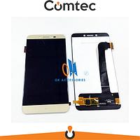 Дисплей для Prestigio MultiPhone PSP5530 Duo Grace Z5 с тачскрином (Модуль) золотистый