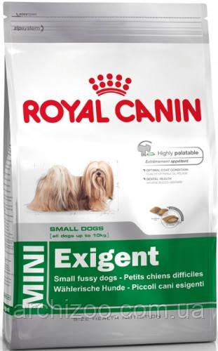 Royal Canin Mini Exigent 1 кг для маленьких пород, привередливых в питании