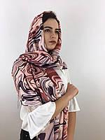 """Шарф жіночий брендовий  """"Абстракція"""", в 10 кольорових гамах, 180*70см.,  Eyfel, Туреччина"""
