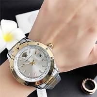 Наручные часы Versace 3104 Silver-Gold Big